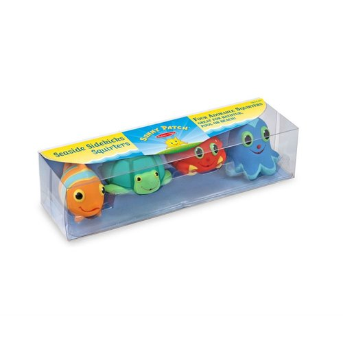 Toys & Games Melissa & Doug Seaside Sidekicks Squirters Water Toys