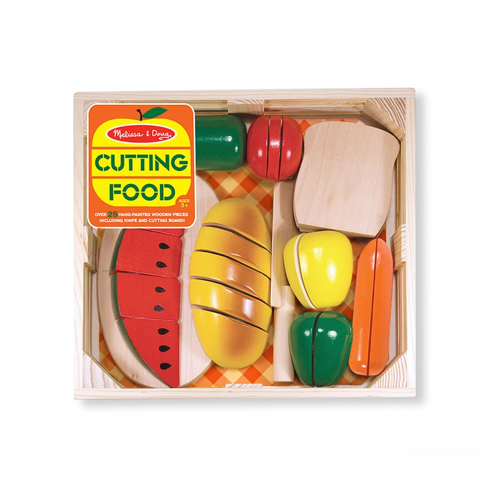 Toys & Games Melissa & Doug Cutting Food - Wooden Play Food