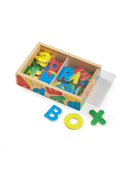 Toys & Games Melissa & Doug Wooden Letter Alphabet Magnets