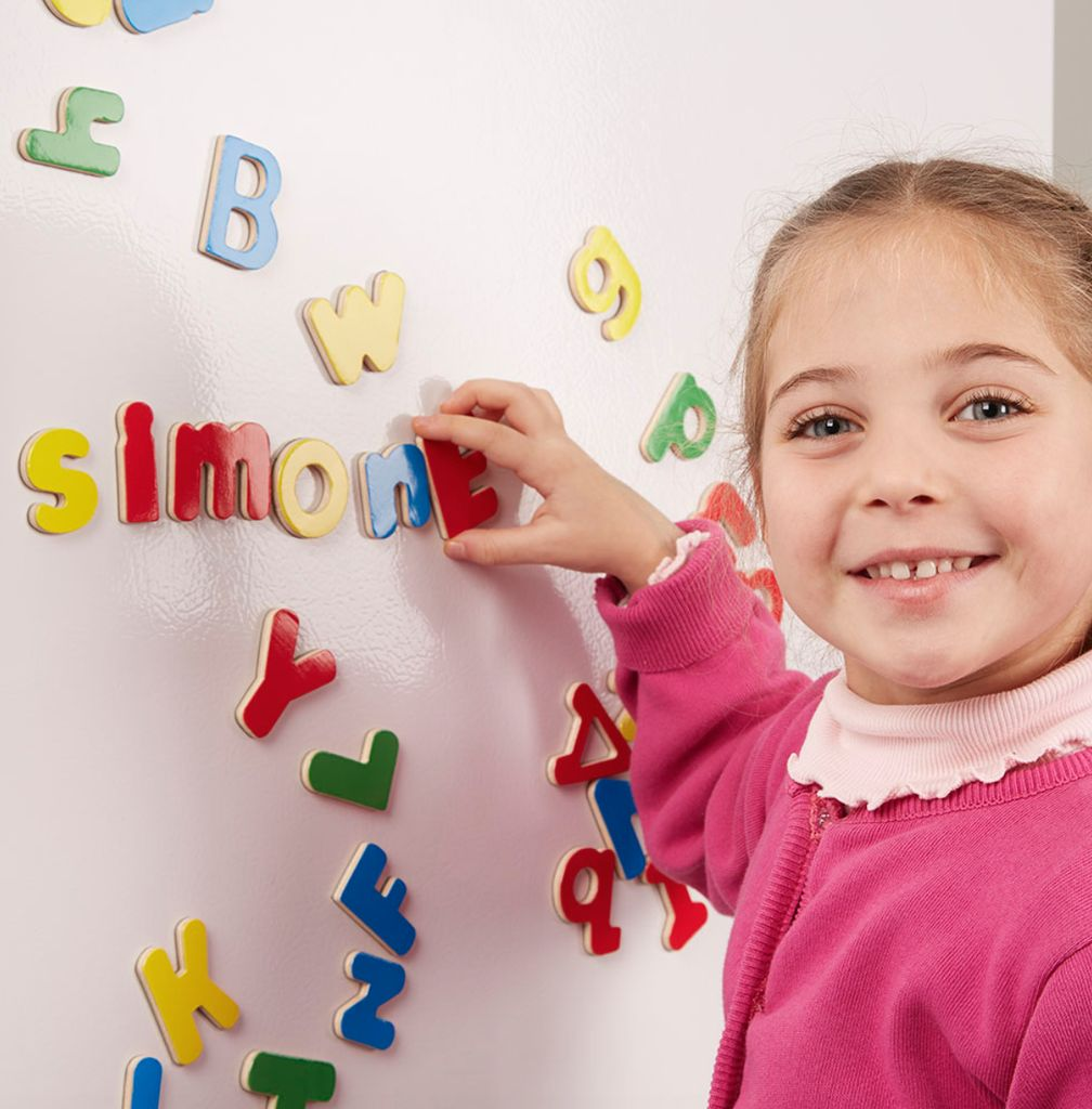 Toys & Games Melissa & Doug Wooden Letter Alphabet Magnets
