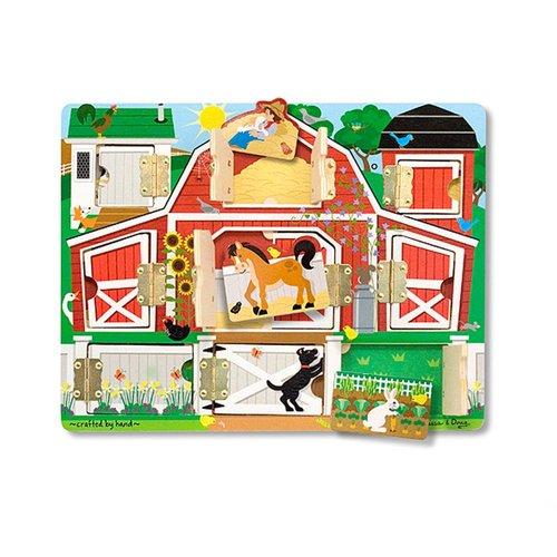 Toys & Games Melissa & Doug Magnetic Hide & Seek Farm