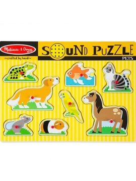 Sound & Lights Melissa & Doug Pets Sound Puzzle (8 Pieces)