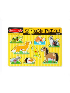 Sound & Lights Melissa & Doug Pets Sound Puzzle (8 Pieces)