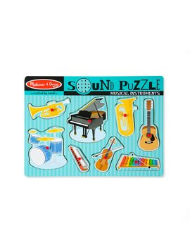 Sound & Lights Melissa & Doug Musical Instruments Sound Puzzle (8 Pieces)