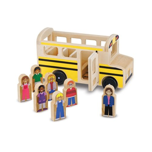 Toys & Games Melissa & Doug Wooden Classic School Bus