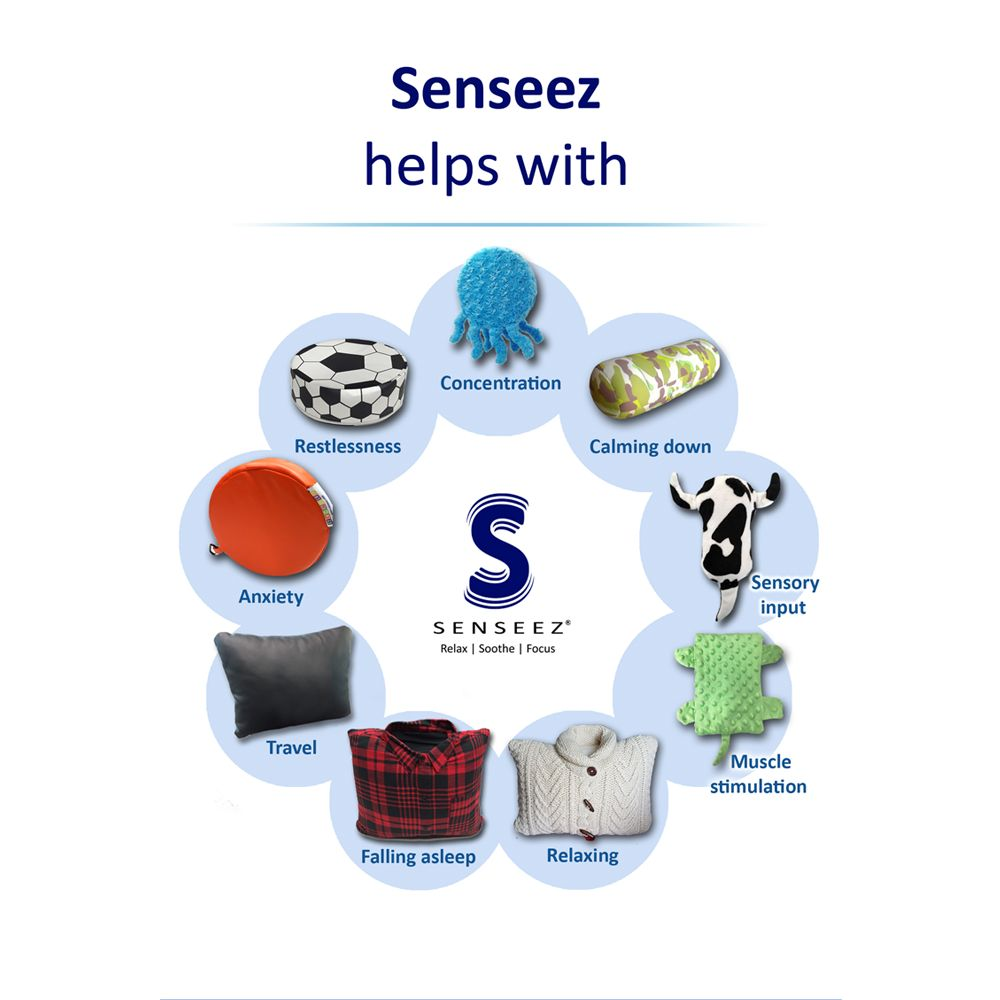 Classroom Aid Senseez Original Vibrating Pillow for Kids- Best Product of the Year Winner!