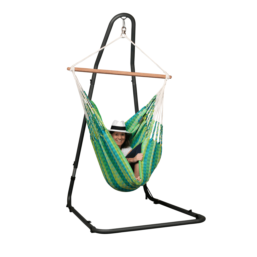 Special Order Mediterráneo Steel Stand for La Siesta Hammock Chairs.