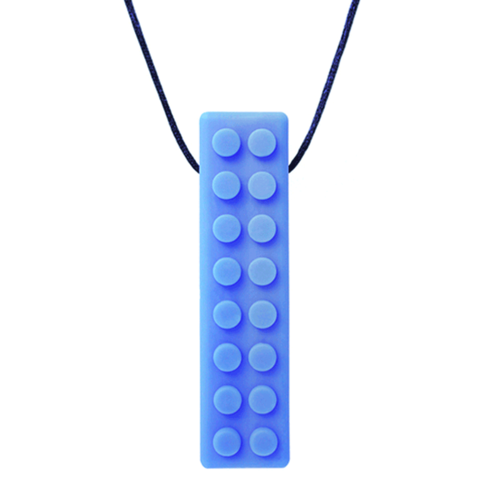 Chews & Chewlry ARK's Brick Stick™ Textured Chew Necklace