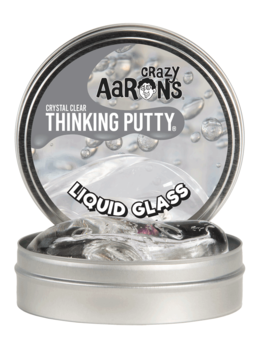 """Toys & Games Crazy Aaron's Liquid Glass 4"""" Thinking Putty"""
