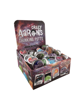"""Toys & Games Crazy Aaron's 2"""" Mini Tins Assorted Mix-n-Match! Thinking Putty"""
