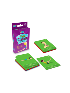 Toys & Games Yoga Cards The Game<br /> by ThinkFun