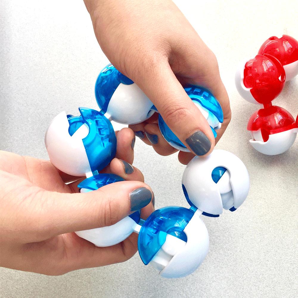 Toys & Games Fidgitz Twisty Brainteaser Puzzle & Fidget