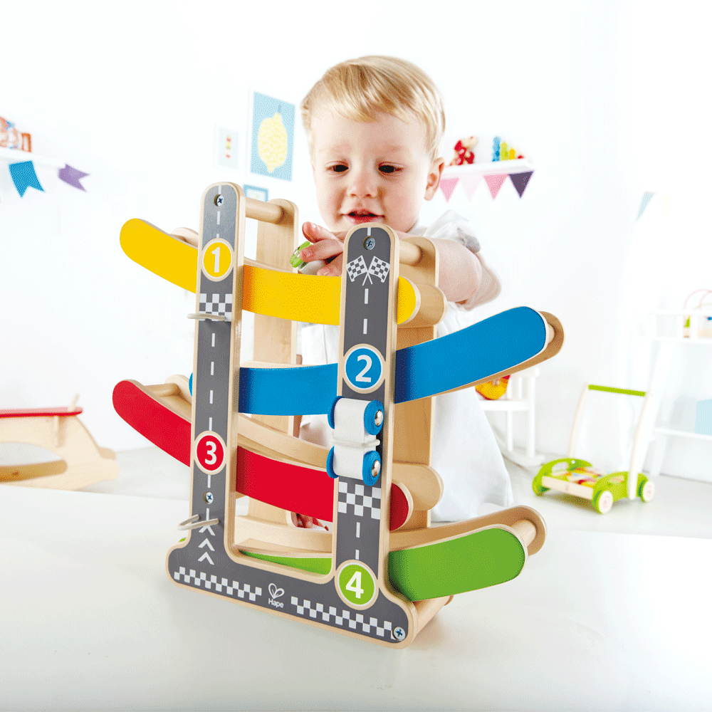 Toys & Games Hape Fast Flip Racetrack