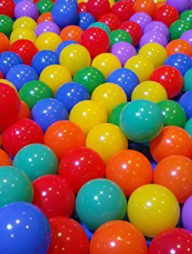 "Special Order 3 1/8"" GermBLOCK™ Antimicrobial Ball Pit Balls (500 Per Carton) - 2 Carton Minimum"
