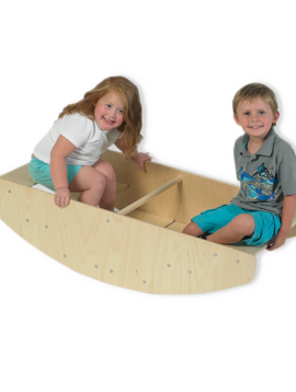 Special Order Angeles Wood Rocking Boat and Climber. *MADE IN THE USA!