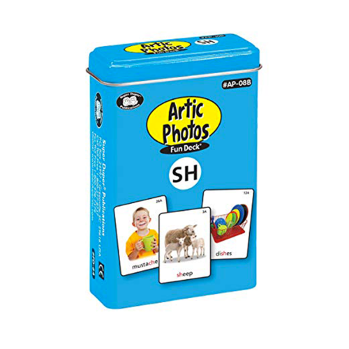 Therapy Equipment Super Duper® Artic Photos Fun Decks® Combo Set 1 - For Articulation & Language