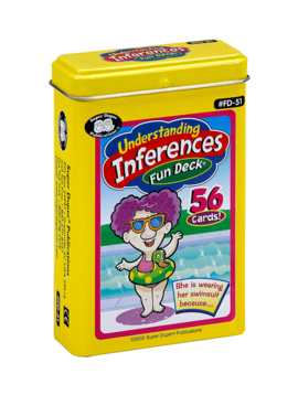 Therapy Equipment Super Duper® Understanding Inference Fun Deck®