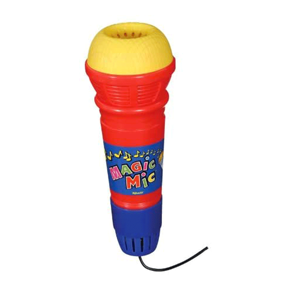 Toys & Games Classic Magic Microphone - No Batteries Required!