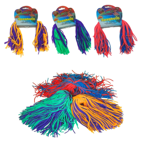 Classroom Aid HyperFlex Spaghetti - A delightful sensory toy! It wiggles, jiggles, and stretches forever…