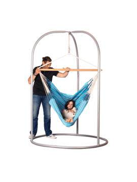 Special Order Romano Steel Stand for Joki, Comfort, or Kingsize Hammock Chairs