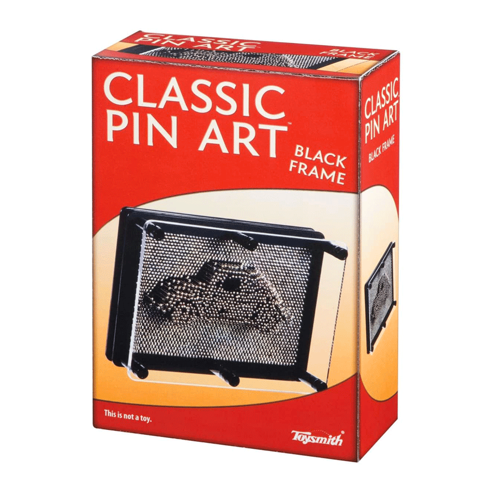 Toys & Games Pin Art Sensory Fidget Toy (3.75-Inch x 5-Inch)