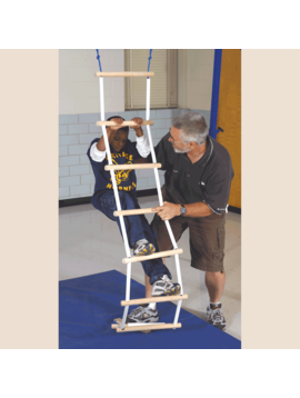 Special Order Smooth Grip Ladder for Vestibular Orientation, Solid Birch Plywood and PVC