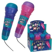 Toys & Games Translucent Magic Mic, Blue, OS