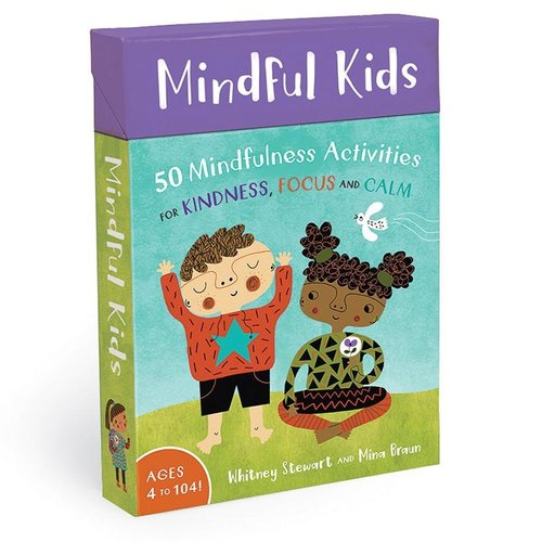 Classroom Aid Mindful Kids Avtivity Cards for Kindness, Focus & Calm