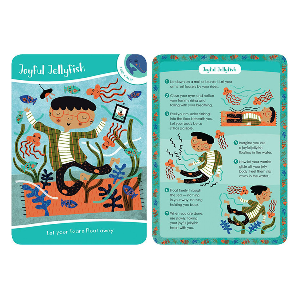 Classroom Aid Mindful Kids Avtivity Cards for Kindness, Focus & Calm