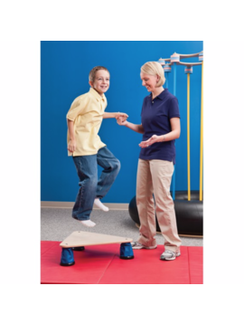 Therapy Equipment Dynamic Triangle Bounce Pad