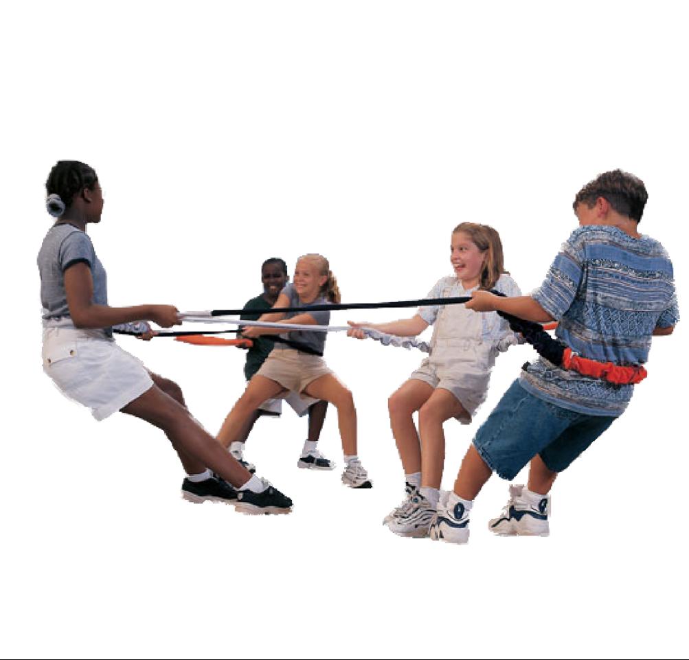 SENSORY Elastablast maximizes proprioceptive input: Grounds, helps motor coordination & promotes teamwork!