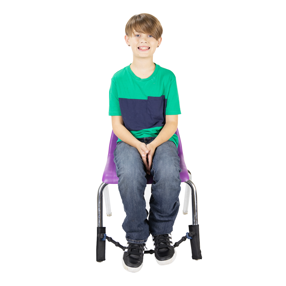 Classroom Aid The Wiggle While You Work Solution! Bouncy Bands for Special Chairs (2 Flexible Cuffs)