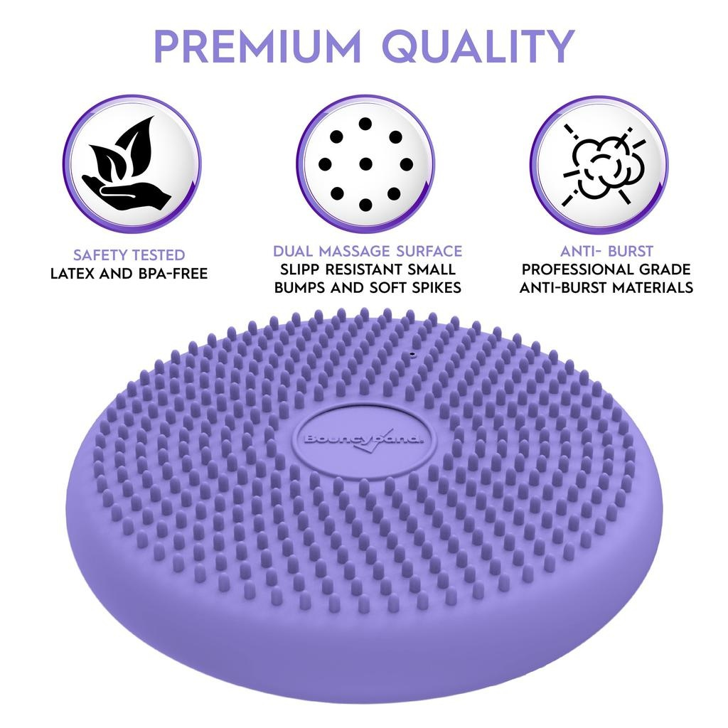"""Classroom Aid Little Wiggle Seat for Young Kids Sensory Chair Cushion (27cm/10.5"""") For Ages 3-7"""