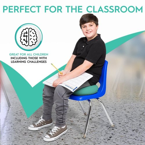 "Classroom Aid Big Wiggle Seat Sensory Chair Cushion (33cm/13"") For Kids & Adults Ages 6+"
