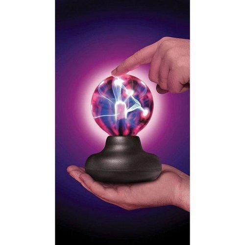 "Sound & Lights Mesmerizing Mini Plasma 3"" Light & Ultimate Lighting Ball Experience!"