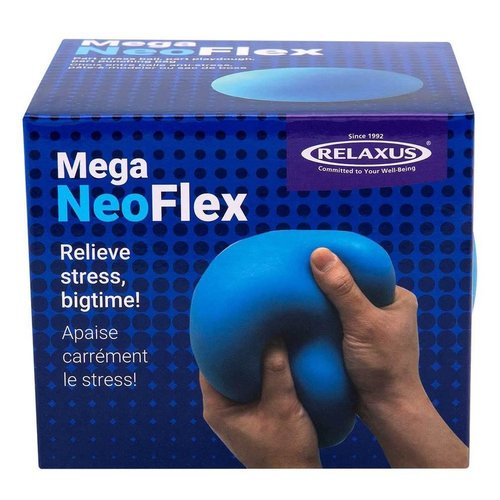 Toys & Games MEGA Neoflex Fidget Ball - The Ultimate squeezy, moldable, stretchable & punchable way to relieve Stress!
