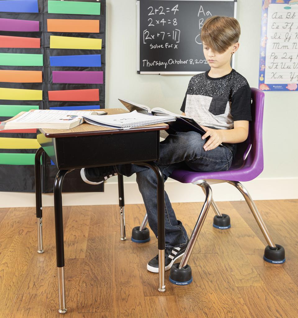 Classroom Aid Wiggle Wobble Chair Feet (Set of 4)