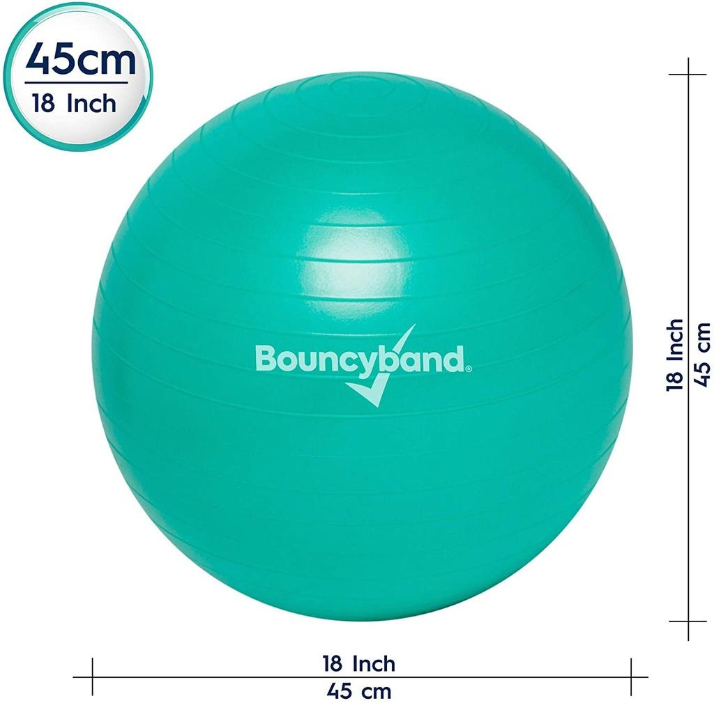 Classroom Aid No Roll, Weighted Balance Ball Chair for Kids up to 5' Tall