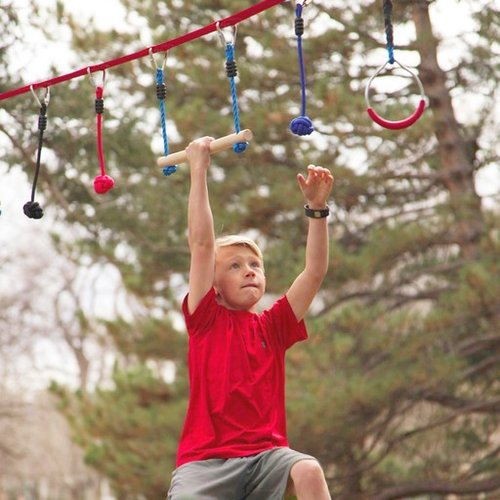 Toys & Games b4 Adventure NinjaLine 36' Intro Kit with 7 Hanging Obstacles
