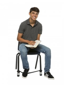 Classroom Aid AWARD WINNING! Bouncy Bands for Middle & High School Chairs - The Wiggle While You Work Solution!