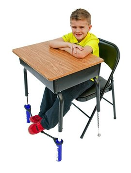 Classroom Aid AWARD WINNING! Bouncy Bands for Standard Desks - The Wiggle While You Work Solution!