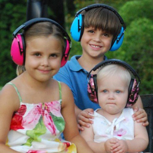 Therapy Equipment EarBanZ Kids Hearing Protection 2-12+ Years by Baby Banz