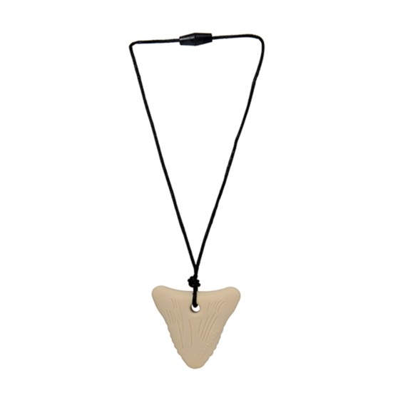 "Chews & Chewlry Chewbeads ""Juniorbeads"" Shark Tooth Pendant"