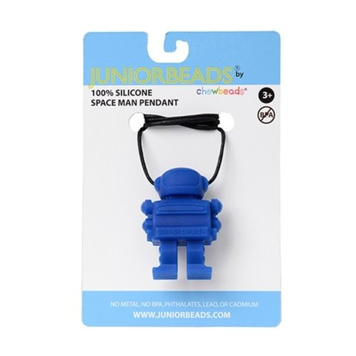 "Chews & Chewlry Chewbeads ""Juniorbeads"" Spaceman Pendant"