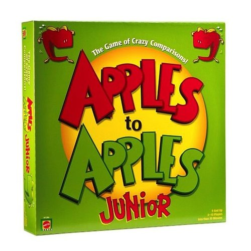 Toys & Games Apples to Apples Junior - The Game of Crazy Comparisons!
