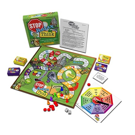 Toys & Games Stop, Relax & Think Board Game - REVISED EDITION! - A Game to Help Impulsive Children Think Before They Act