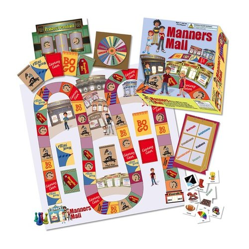 Toys & Games Manners Mall Board Game