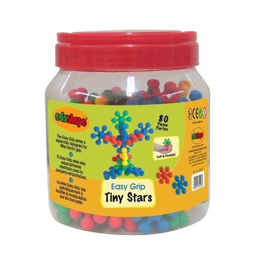 Toys & Games Edushape Ez-Grip Tiny Stars 80pc