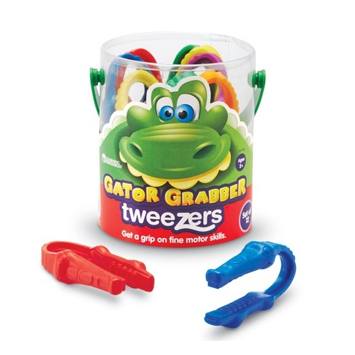 Toys & Games Gator Grabber Tweezers (Bucket of 12)