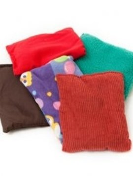 Therapy Equipment Set of 5 1/2lb Tactile Beanbags/Vest Weights